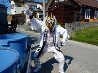 余戸大神輿会のタイガーマスク